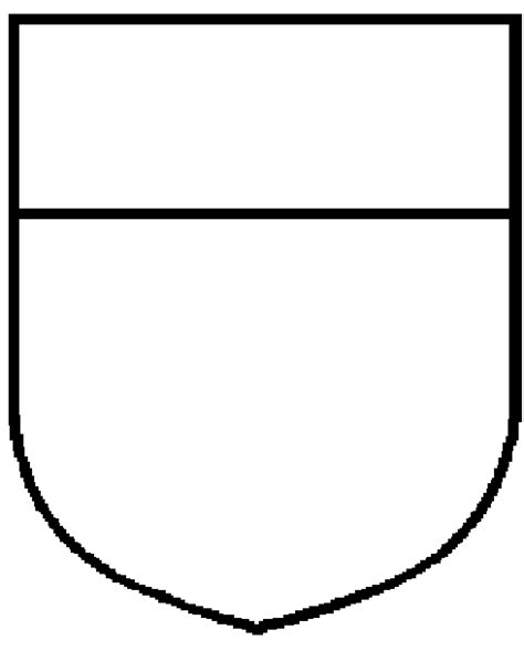 shield template heraldic shield template www pixshark images