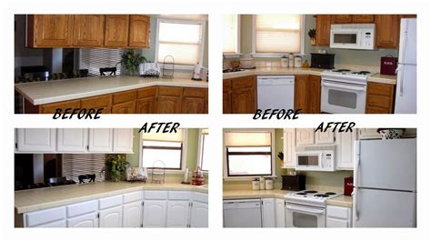 Cheap Kitchen Cabinet Makeover Kitchen Design Ideas Cheap Kitchen Makeover Ideas Before And After