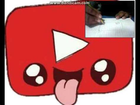 imagenes kawaii de redes sociales dibujando logo de youtube kawai 180 180 youtube