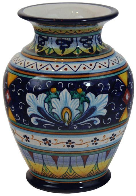 Italian Ceramic Vase by Deruta Italian Ceramic Vase