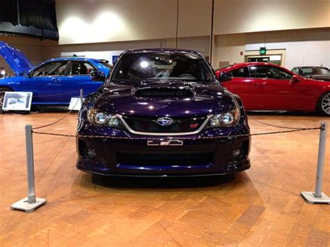 purple subaru find used 2011 subaru impreza wrx sti wagon plasma blue