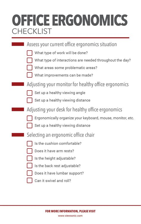 office ergonomics  complete guide news company information viewsonic