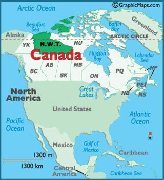 printable map of yellowknife geography of northwest territories world atlas