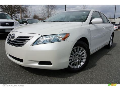blizzard white pearl 2007 toyota camry hybrid exterior photo 78245269 gtcarlot