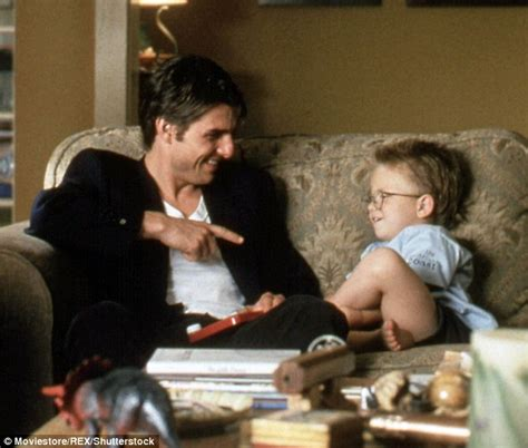 Tom Cruise Is Still by Jerry Maguire S Jonathan Lipnicki Admits Tom Cruise Is
