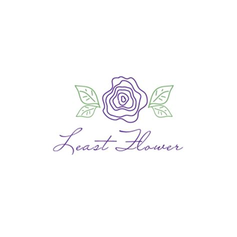 design logo flower least flower logo design gallery inspiration logomix