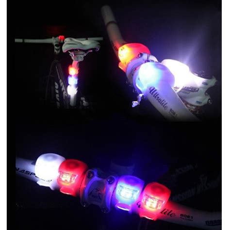 Bicycle Light Waterproof Silicone Led Mountain Bike Flashlight 2 Pcs bicycle light waterproof silicone led mountain bike flashlight 2 pcs jakartanotebook