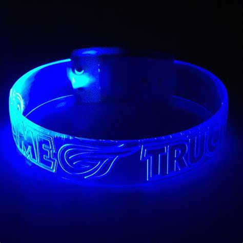 jumbo xl led wristbands personalized custom light up