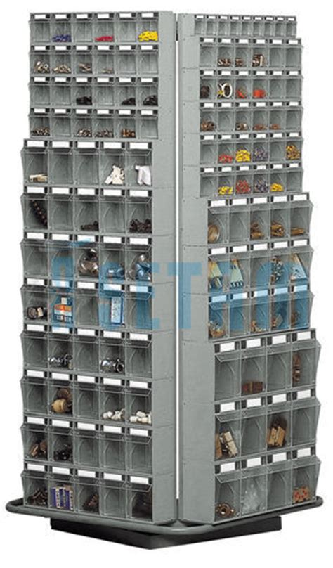 classeur rotatif complet pour bloc tiroir plastique