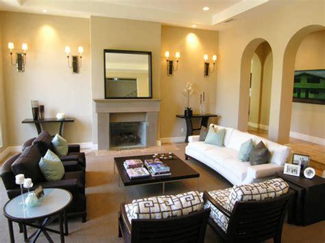 transitional design living room transitional living space photos hgtv