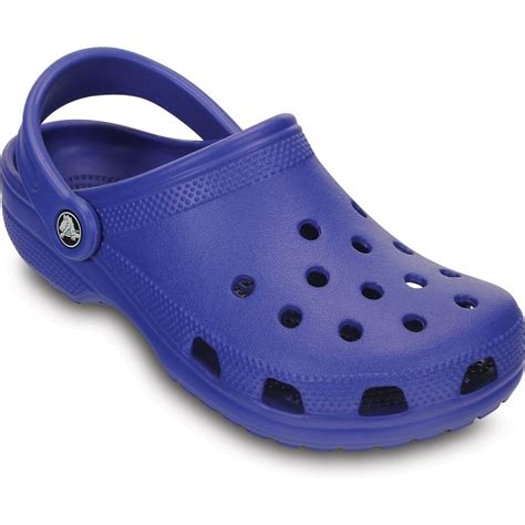crock shoes crocs crocs classic shoe cerulean blue original slip on