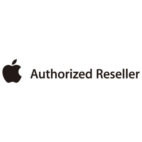 apple reseller apple authorized reseller vector