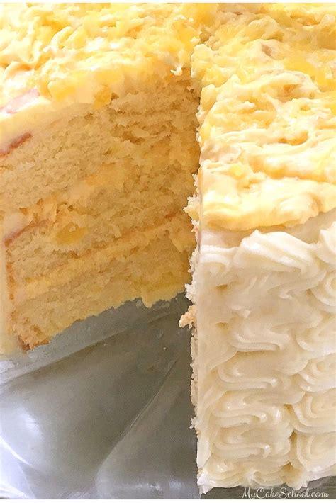 My Cake by Pineapple Cake Recipe My Cake School