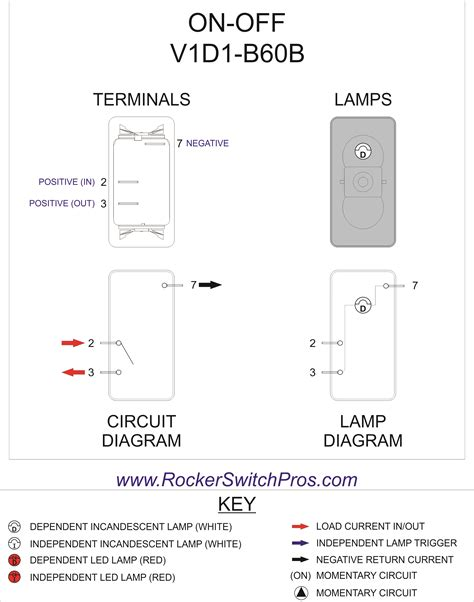 carling vjd1 d66b rocker switch wiring diagram get free