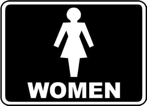 woman bathroom sign pics for gt womens bathroom sign
