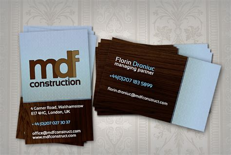 Free Contractor Business Card Templates by 21 Construction Business Cards Free Psd Ai Eps Format