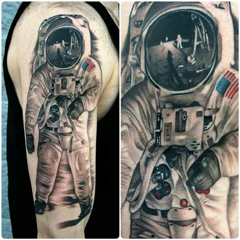 astronaut tattoos astronaut tattoos