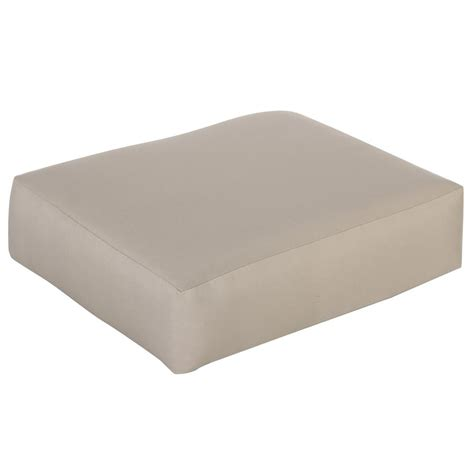linon home decor chelsea cushion set beige microfiber