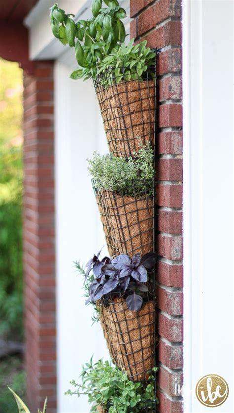 diy herb garden planter best 25 vertical herb gardens ideas on pinterest diy