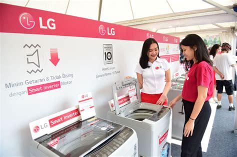 Mesin Cuci Hemat Listrik gerakan67 strategi khusus lg kenalkan mesin cuci