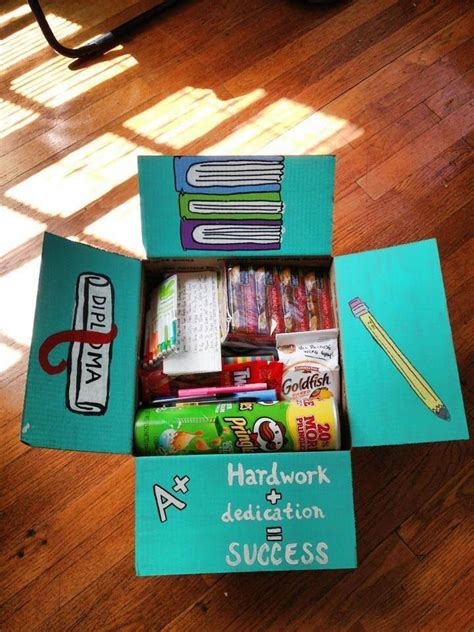 Gift Card Package Ideas - finals week care package favorite snacks gift cards to restaurants on cus