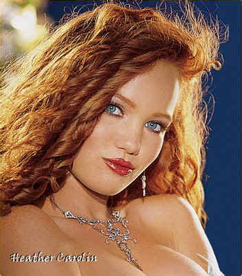 wikipedia first red haired playboy playmate model heather carolin joseph canger studio