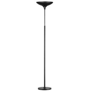 globe electric led floor l torchiere globe electric 71 in black satin led floor l torchiere