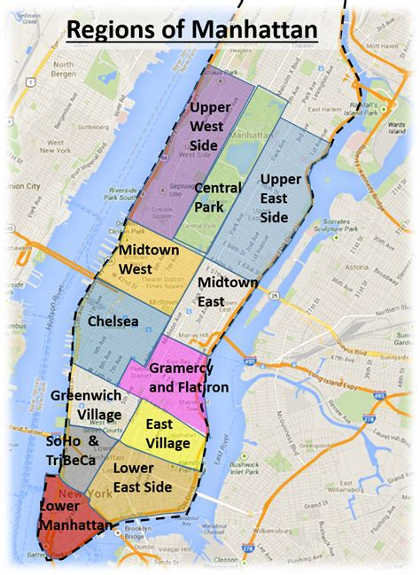 map of manhattan new york city new york city roads 2 roam