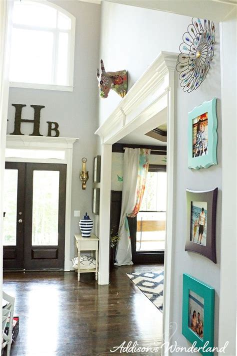 summer home  home tall wall decor foyer decorating