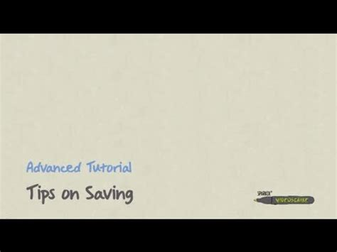 videoscribe tutorial videos videoscribe v1 tutorial tips on saving how to save