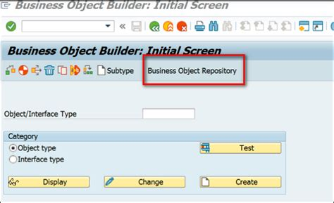 repository pattern vs business objects sap business workflow business object builder