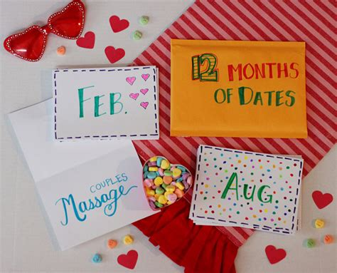 valentines day gifts for me holidays diy s day gift for him 12 months of