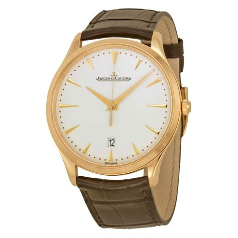 jaeger lecoultre master ultra thin beige pink gold