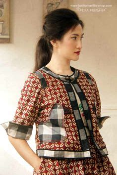 Baju Dress Srr Birdy Dress 30 Model Baju Batik Terbaru Untuk Wanita Modis Modern
