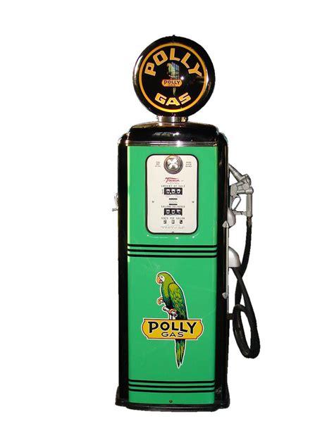 Killer 1950s Polly Oil restored Tokheim model #39 service