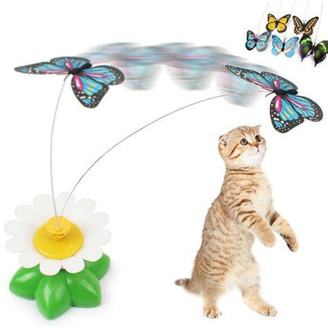 Mainan Kucing Murah mainan kucing kupu kupu elektrik jakartanotebook