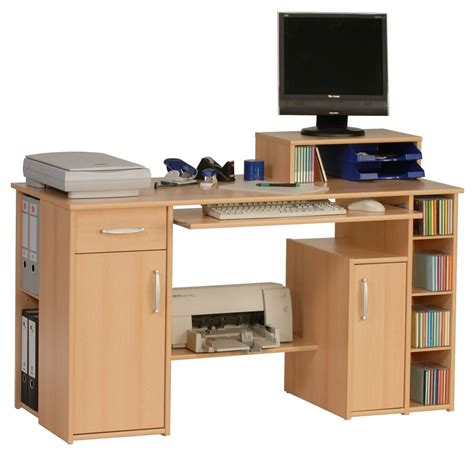 Maja Seattle Beech Computer Desk Office Desks Seattle
