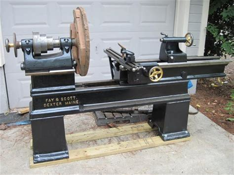 pattern makers wood lathe for sale photo index fay scott 36 quot pattern makers gap bed
