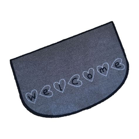 decorative wash mat welcome hearts quality doormats