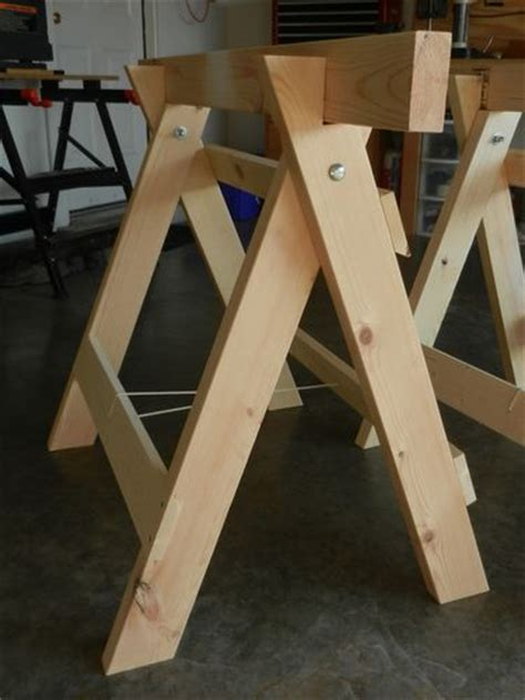 diy table with sawhorse legs best 25 folding sawhorse ideas on saw diy diy furniture no tools and folding