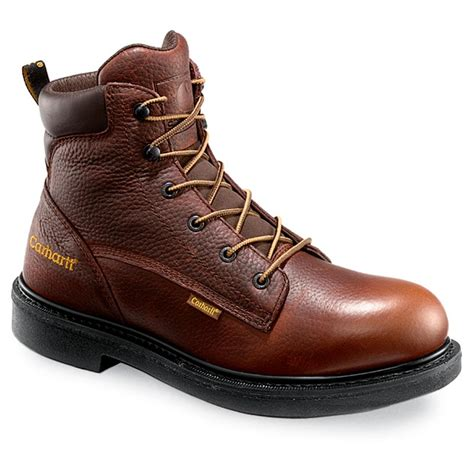 carhartt mens work boots s carhartt 174 3705 6 quot work boot brown 147924 work