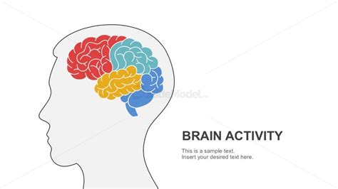 Free Brain Activity Powerpoint Template Slidemodel Brain Ppt Template