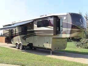 Front Living Room 5th Wheel Floor Plans 2014 drv tradition 390 fully loaded used luxury 5th wheel