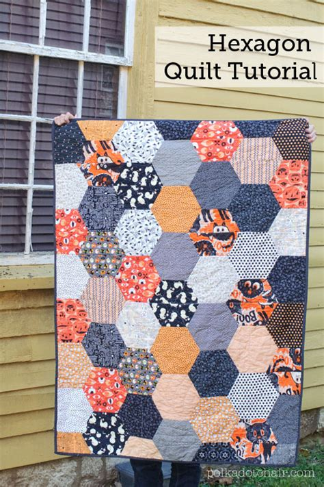 Hexagon Quilt Pattern Free by Free Quilt Tutorial Hexagon Quilt