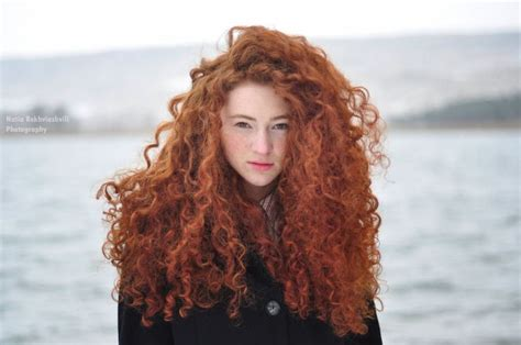 cute girl hairstyles merida woman with curly red hair chicks pinterest