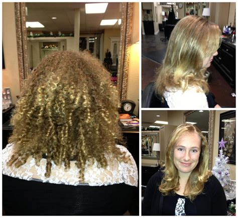blowout results on curly hair happy brazilian blowout customer thousand oaks hair