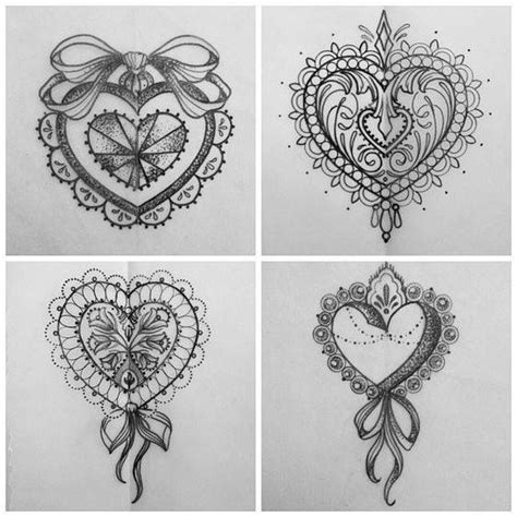 tattoo mandala heart 613 best images about tattoo drawings on pinterest