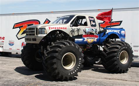 monster trucks bigfoot videos big foot monster truck quotes