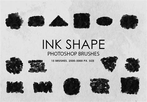 shape pattern brushes photoshop free ink shapes photoshop brushes free photoshop brushes