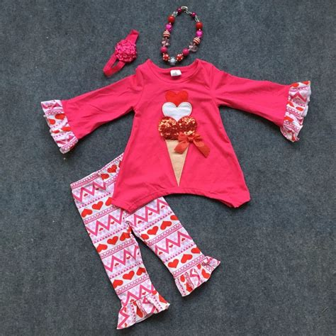themed clothing days aliexpress com buy 2 14 theme valentine outfit kids